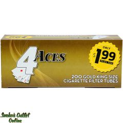 4 Aces tubes 200 ct. Gold King