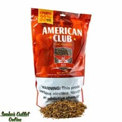 American Club Expanded Pipe Tobacco 1 lb (16oz) - Red