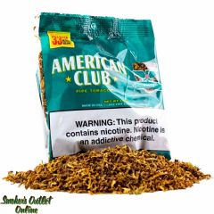 American Club Expanded Pipe Tobacco 1.5oz - Green