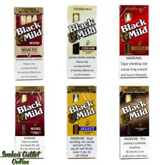 Black and Mild Pipe Tobacco Cigarillos - 5 Pack