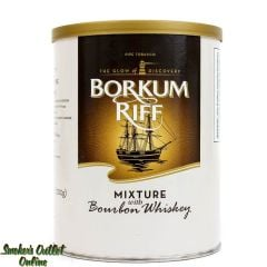 Borkum Riff Pipe Tobacco 7 oz Can Mixture with Bourbon Whiskey