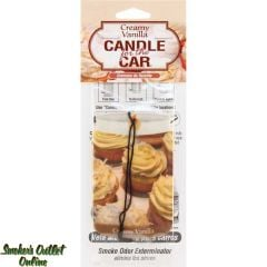 Creamy Vanilla Candle for the Car Air Freshener