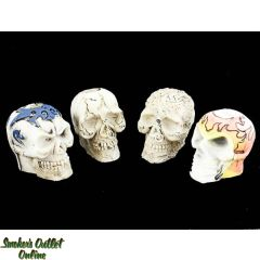 Ceramic Skull Snuffers