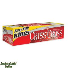 Criss Cross tubes 200 ct - Red King