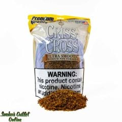 Criss Cross Pipe Tobacco 1 lb Ultra Smooth