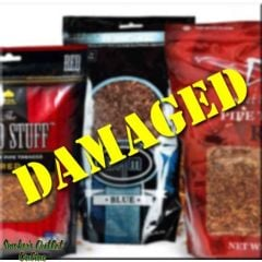 Pipe Tobacco in Bags 6 oz Damaged