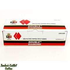 Double Diamond tubes 200 ct - Red King