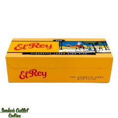 El Rey tubes 200 ct. Red King