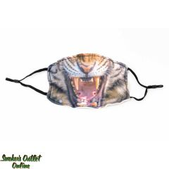 Face Mask - Tiger Mouth