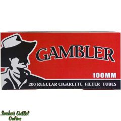 Gambler Full Flavor 100mm Cigarette Tubes