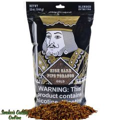 High Card Pipe Tobacco 12 oz - Gold