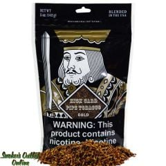 High Card Pipe Tobacco 5 oz - Gold