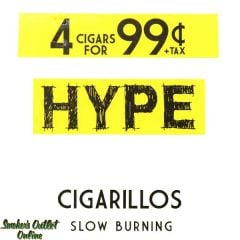Hype Foil Pouch Cigarillos - 4 pack