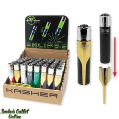 Kasher Eclipse With Translucent Clipper - Display/48