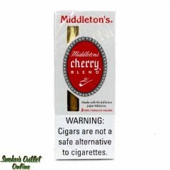 Middleton's Cherry Blend Pipe Tobacco Cigarillos - 5 Pack