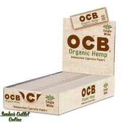 OCB Rolling Paper - Organic Hemp - Single Wide