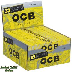 OCB Rolling Paper - Solaire King Size Slim