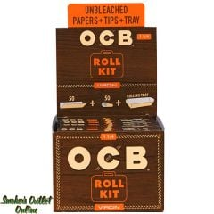 OCB Rolling Paper - Virgin 1 1/4 Roll Kit