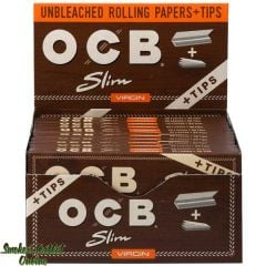 OCB Rolling Paper - Virgin Slim + Tips
