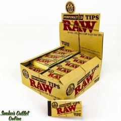 Raw Perforated Tips - Wide