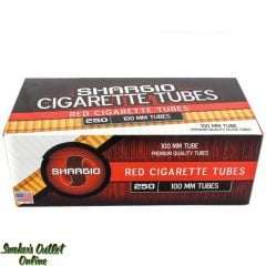 Shargio tubes 250 ct. Red 100mm