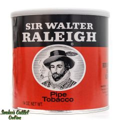 Sir Walter Raleigh Black/Orange Can
