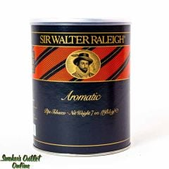 Sir Walter Raleigh AROMATIC Black/Red 7oz Can