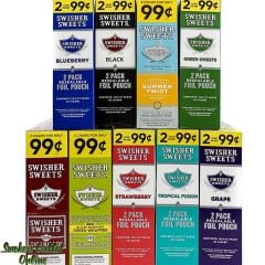 Swisher Sweets Foil Pouch Cigarillos