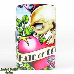 Tattoo Metal Cigarette Case - King - Hate or Love