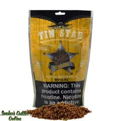Tin Star Pipe Tobacco 3 oz - Gold