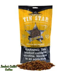 Tin Star Pipe Tobacco 8 oz - Gold