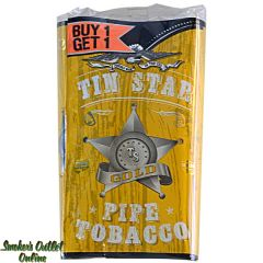 Tin Star Pipe Tobacco 0.7 oz - Gold