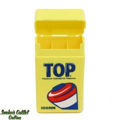 Top Strong Box Cigarette Case - 100mm Front