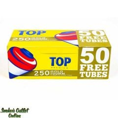 Top Tubes 250 ct Gold 100mm