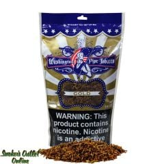 Washington Pipe Tobacco 8 oz - Gold