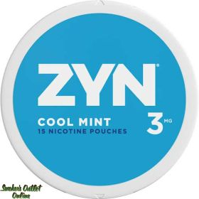 ZYN Nicotine Pouches - 3MG - Cool Mint