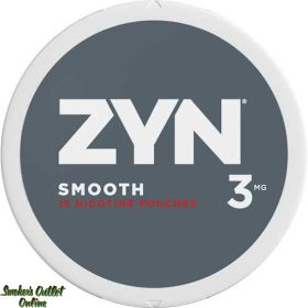 ZYN Nicotine Pouches - 3MG - Smooth